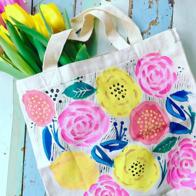 floral-tote-diy